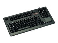 Cherry Compact 104-Key USB Keyboard with Integrated Touchpad, G80-11900LUMEU-2, 6655083, Keyboards & Keypads