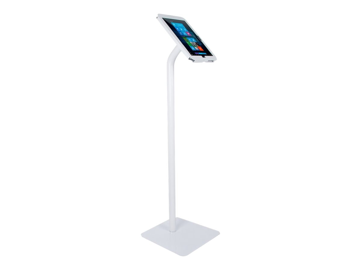 Joy Factory Elevate II Floor Stand Kiosk w  Secure Enclosure for Surface Pro 4, KAM301W