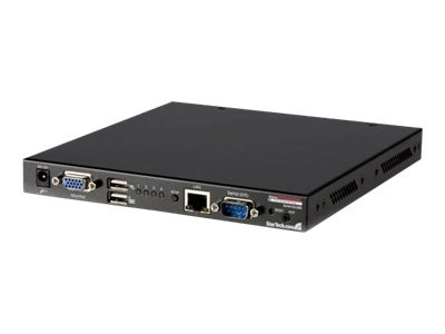 StarTech.com 4-Port USB VGA IP KVM Switch w  Virtual Media, SV441DUSBI, 9486748, KVM Switches