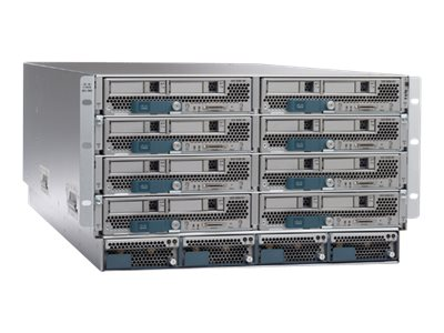 Cisco UCS SP Select 5108 DC Chassis w 2208 IO, 4xSFP Cables (3m)