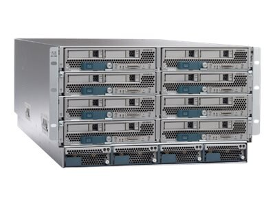 Cisco UCS 5108 Blade Server Chassis AC2, UCSB-5108-AC2-CH, 18239191, Cases - Systems/Servers