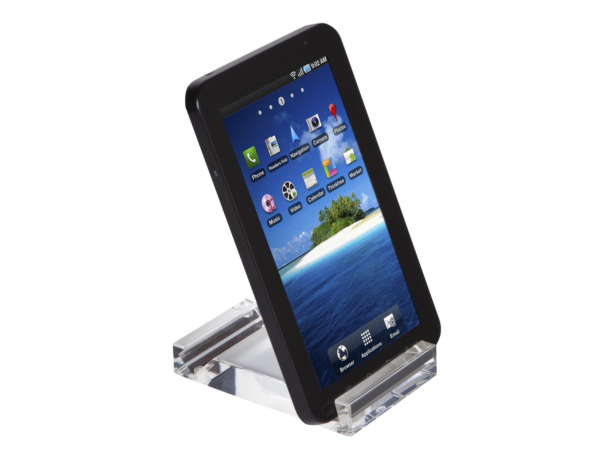 Targus Mini Stand for 0.4-0.6 Thick Tablets, Clear