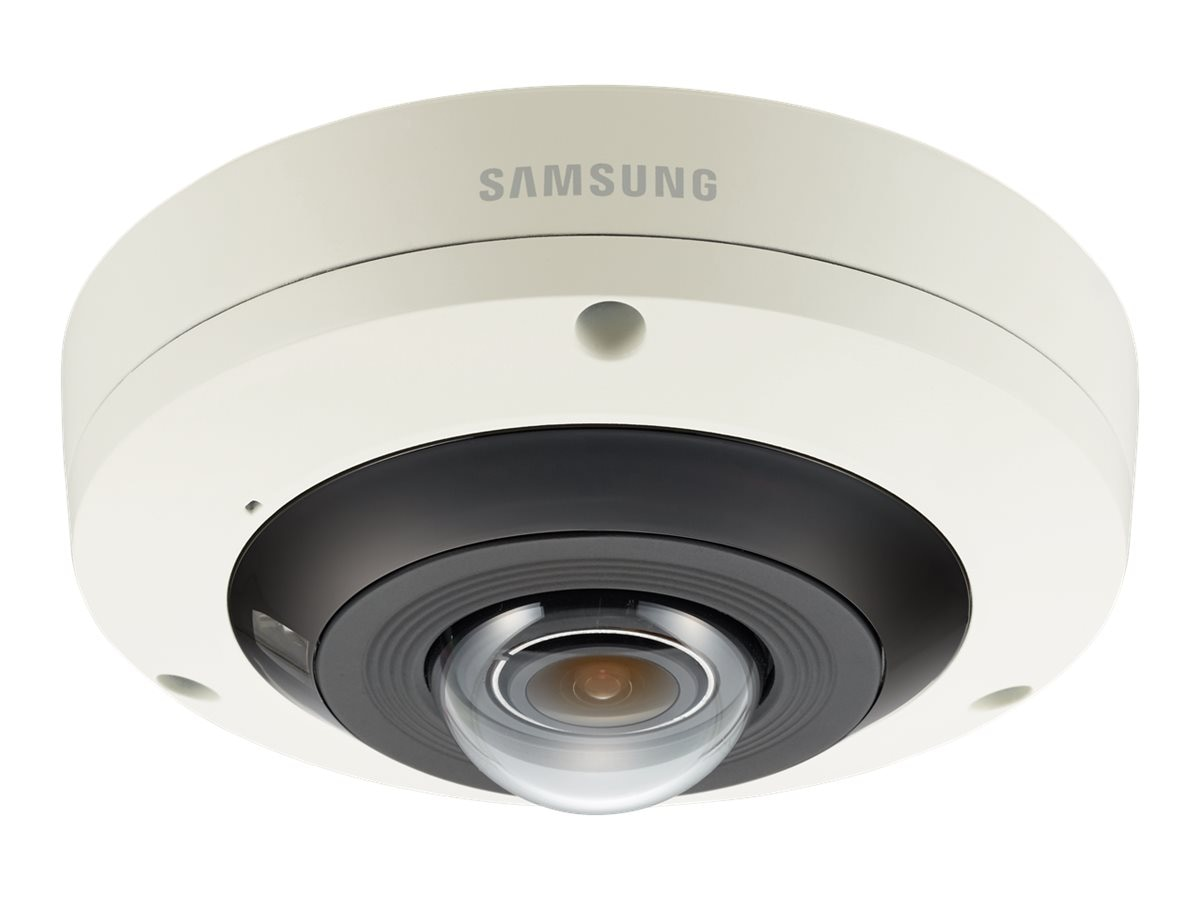 Samsung 4K IR Fisheye Vandal Mobile Dome Camera