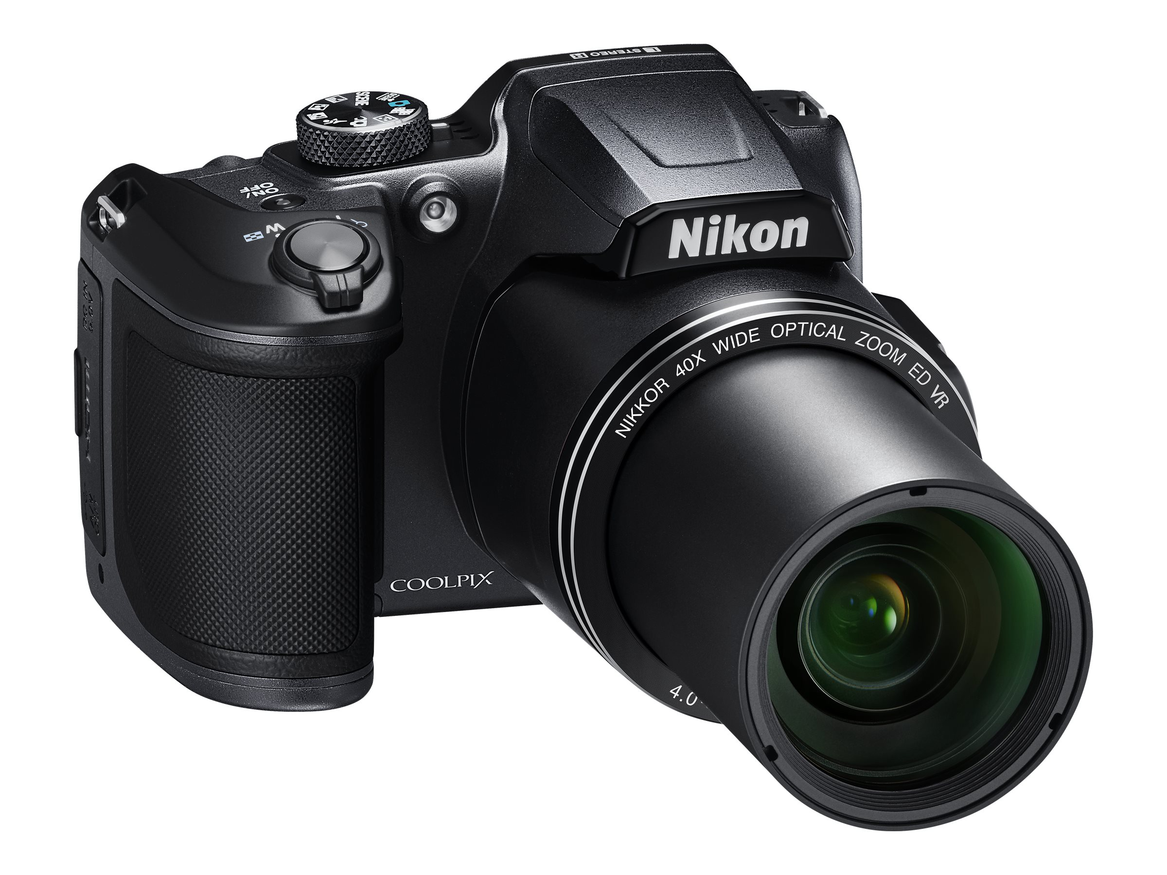Nikon COOLPIX B500 Digital Camera, Black, 26506