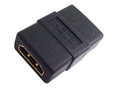 Calrad HDMI F F Coupler Adapter, Black, 35-713-A