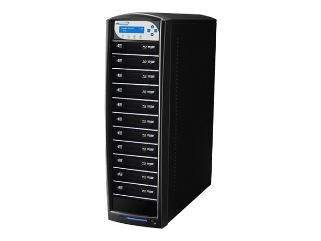 Vinpower SharkBlu Blu-ray DVD CD Daisy Chain 1:11 Duplicator - Pioneer w  Hard Drive, BD-PIO-11-BK