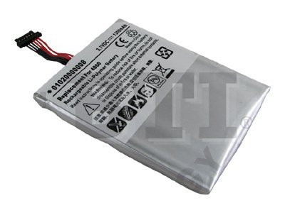 BTI Battery, Lithium-Polymer, 3.7 Volts, 1300mAh, GPS-GID4000, 8443480, Batteries - Other