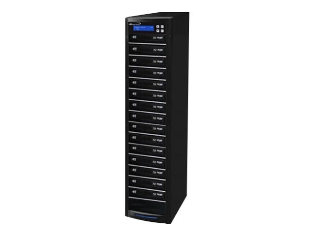 Vinpower ECON Blu-ray DVD CD 1:15 Tower Duplicator w  Hard Drive, ECON-S15T-BD-BK, 15128251, Disc Duplicators