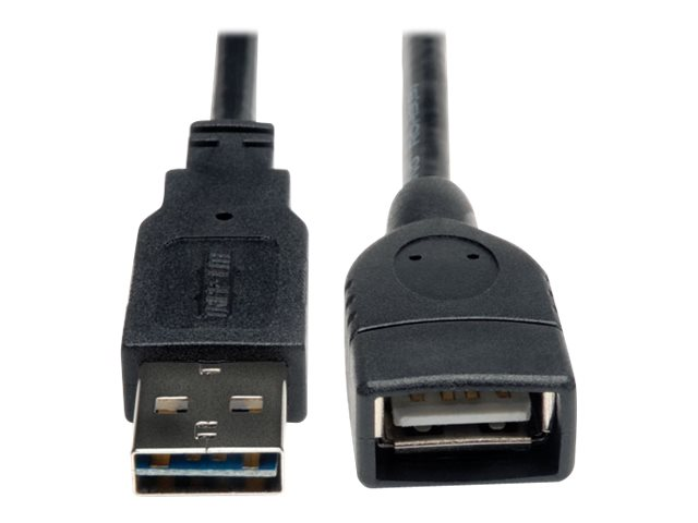 Tripp Lite Reversible USB Type A to A M F Cable, 6