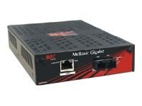 IMC MCBasic Gigabit TX SX-MM850 Media Converter, 855-11913, 9312191, Adapters & Port Converters