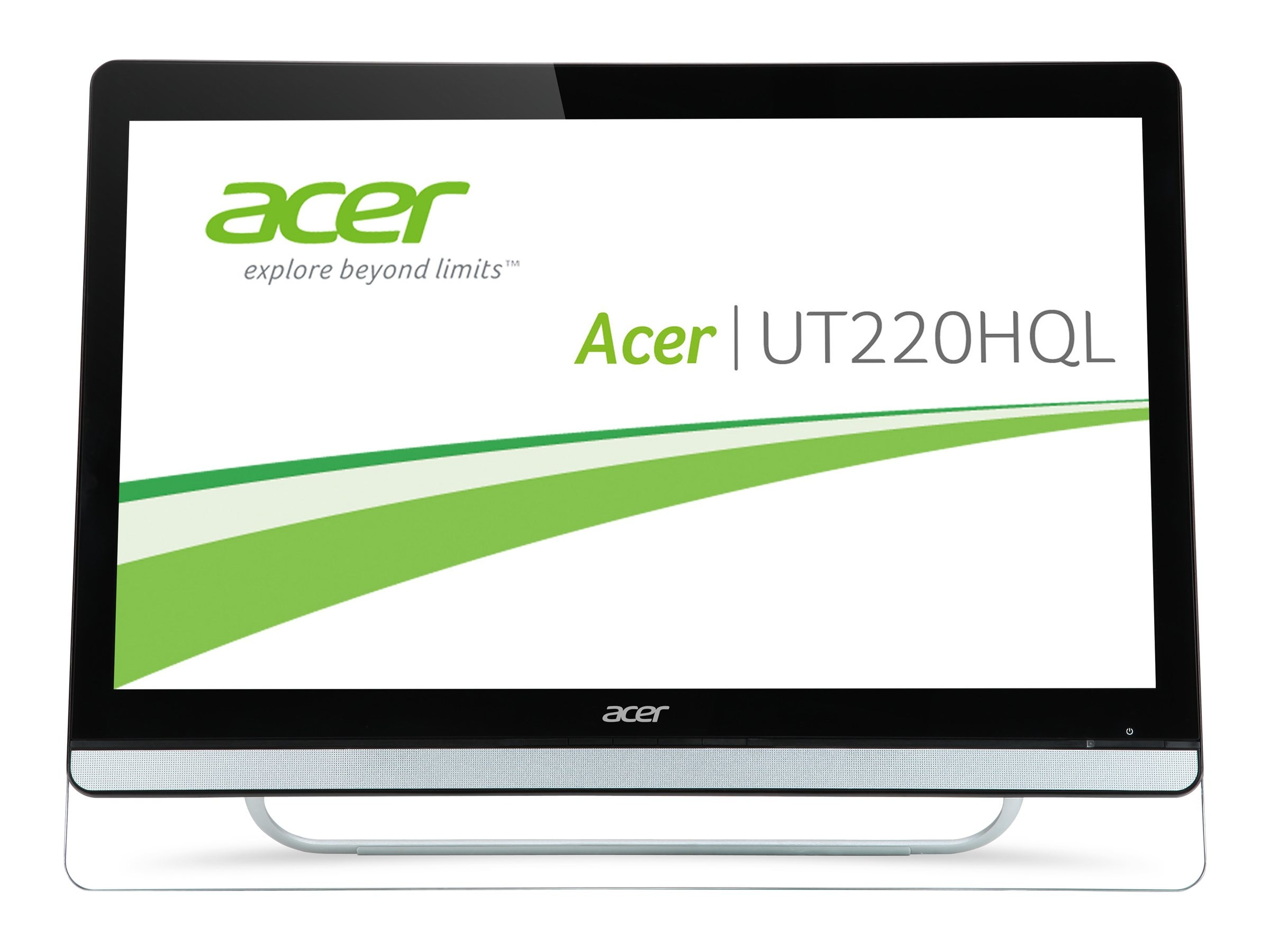 Acer 21.5 UT220HQL bmjz Full HD LED-LCD Touchscreen Display, Black, UM.WW0AA.004, 26830811, Monitors - LED-LCD