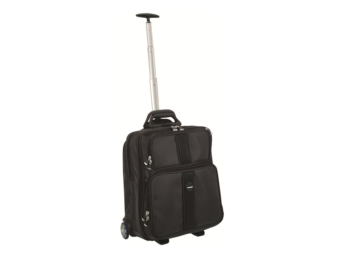 Kensington Contour Overnight Notebook Roller Case, Black, 62903