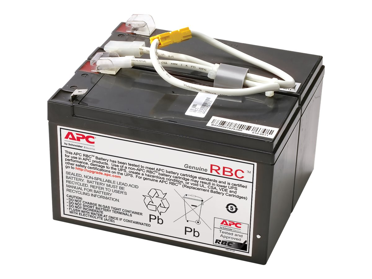 APC Replacement Battery Cartridge #109 for BN1250, BR1200, BR1500 models