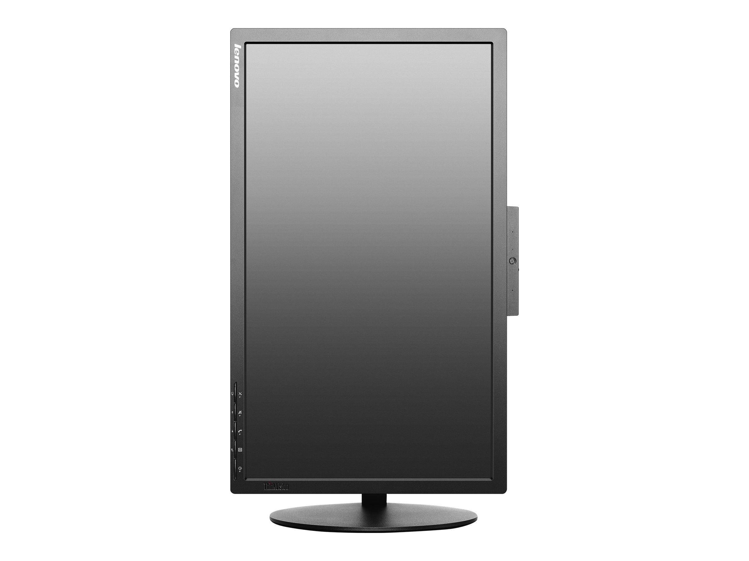 Lenovo 21.5 T2224Z Full HD LED-LCD Monitor with Webcam, Black, 60CBMAR6US