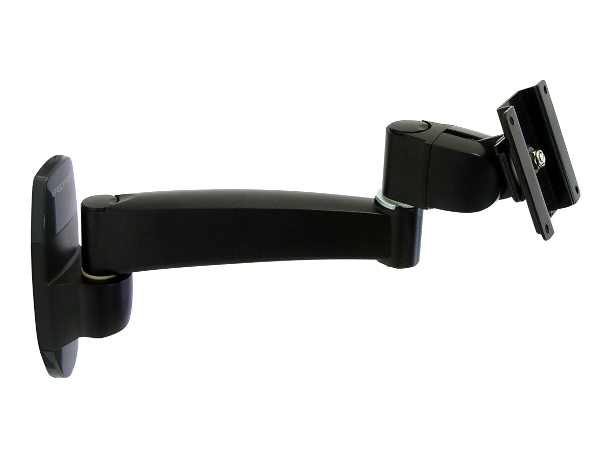 Ergotron 200 Series Single Extension Wall Mount Arm Extension, Black, 45-233-200