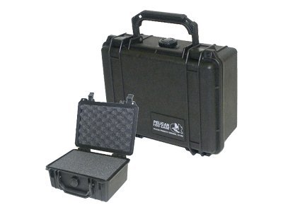 Pelican 1150 Hard Case with Foam, Black