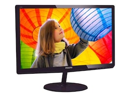 Philips 23.6 247E6QDSD Full HD LED-LCD Monitor, Black, 247E6QDSD, 33248133, Monitors