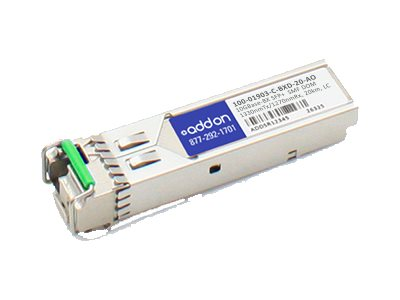ACP-EP AddOn Calix 10GBASE-BX SFP+ SMF Transceiver, 100-01903-C-BXD-20-AO