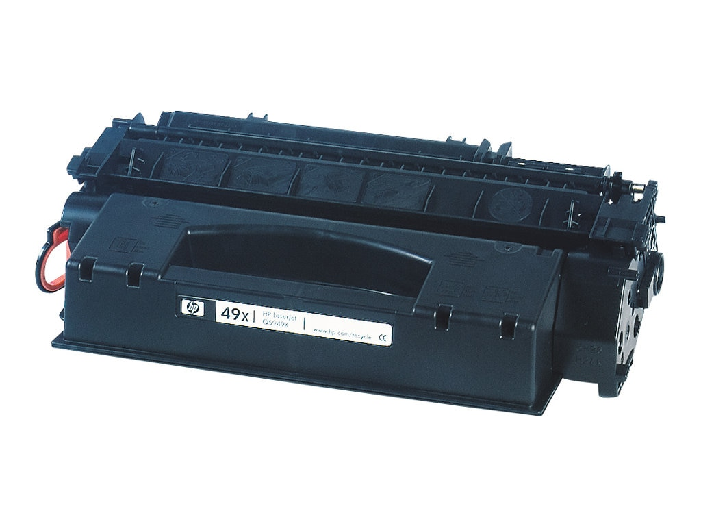 HP 49X (Q5949XD) 2-pack High Yield Black Original LaserJet Toner Cartridges