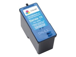Dell Color Series 15 Standard Yield Ink Cartridge for Dell V105 All-in-One Printer (330-0867), UK852, 17099537, Ink Cartridges & Ink Refill Kits
