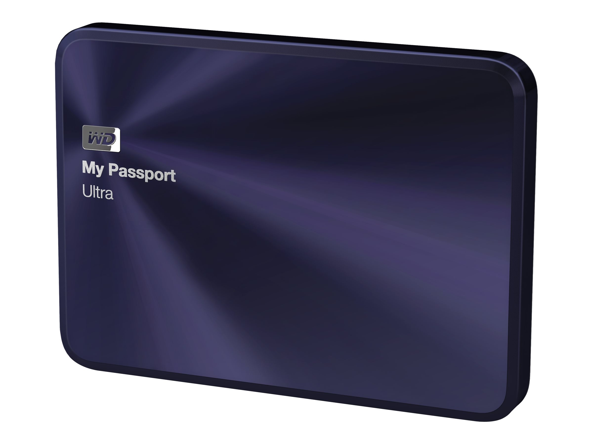 WD 2TB My Passport Ultra Metal Edition USB 3.0 Portable Hard Drive - Blue Black, WDBEZW0020BBA-NESN, 17653438, Hard Drives - External
