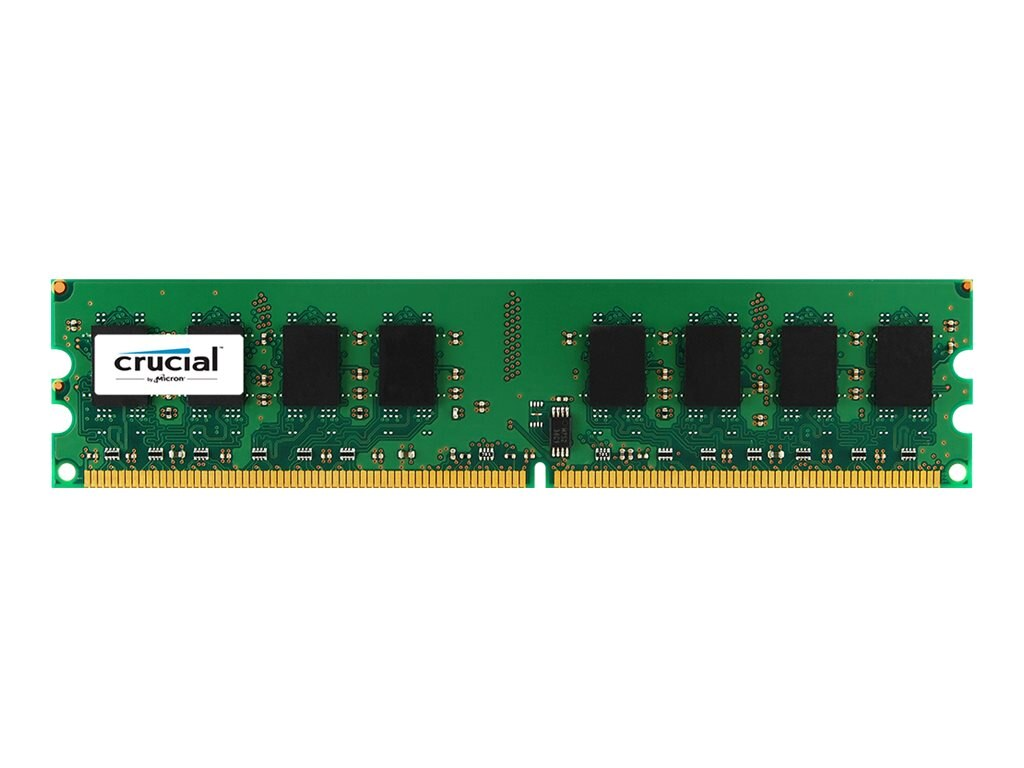 Crucial 2GB PC2-5300 240-pin DDR2 SDRAM UDIMM, CT25664AA667