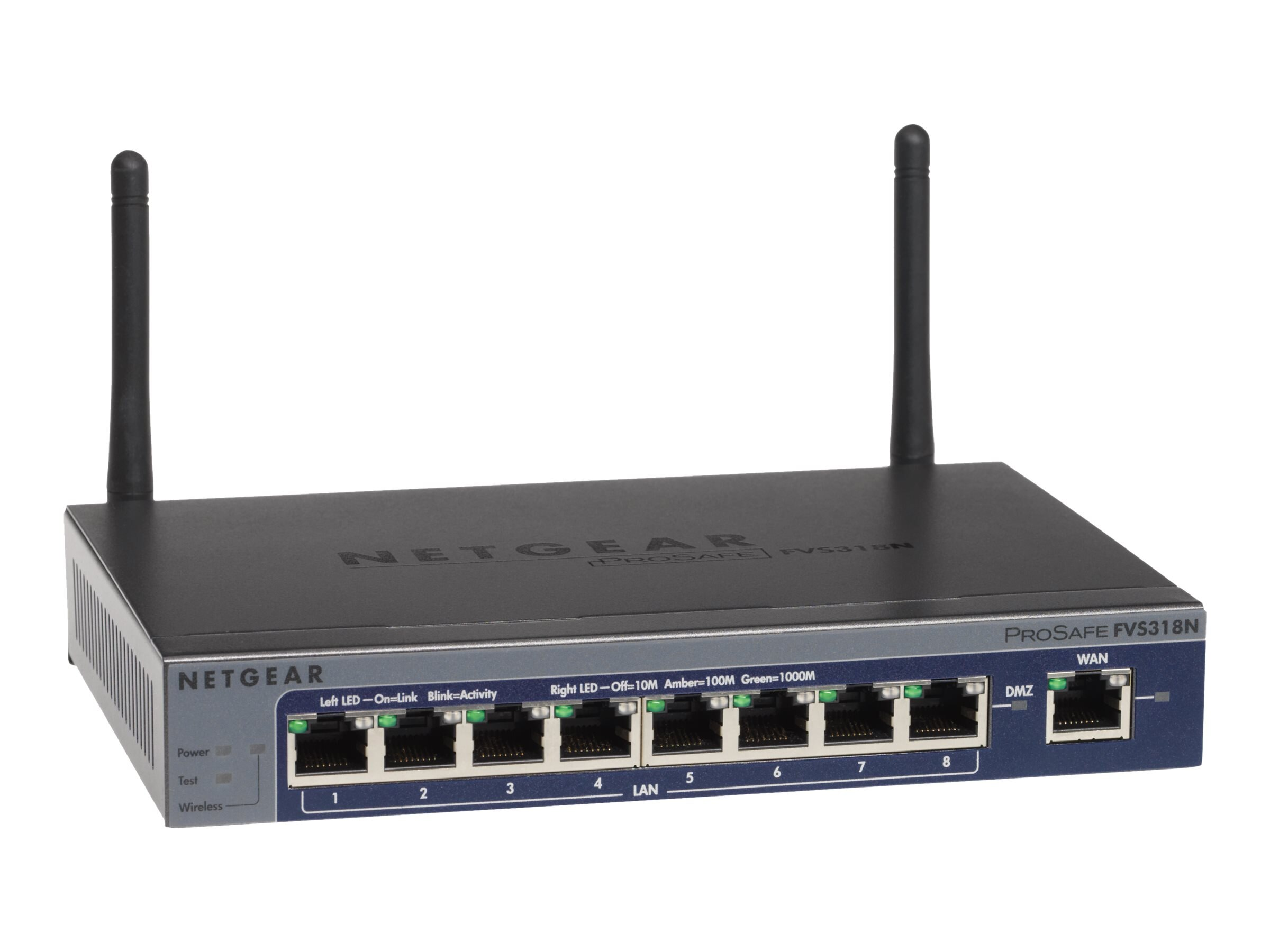 Netgear ProSafe Wireless-N 8-port Gigabit VPN Firewall, FVS318N-100NAS, 13231449, Network Firewall/VPN - Hardware