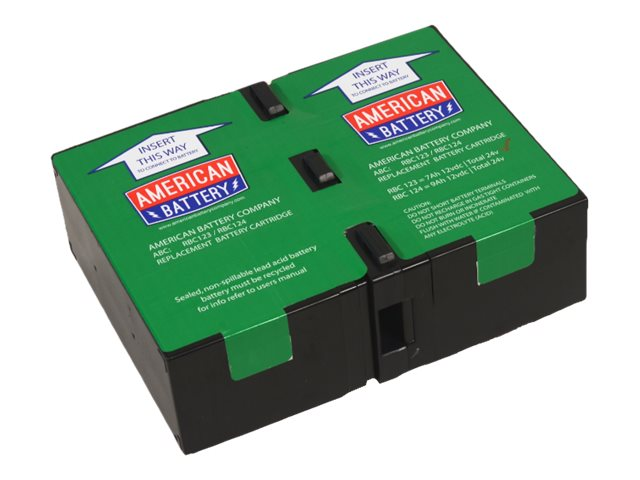 American Battery Replacement Battery Cartridge #123, RBC123
