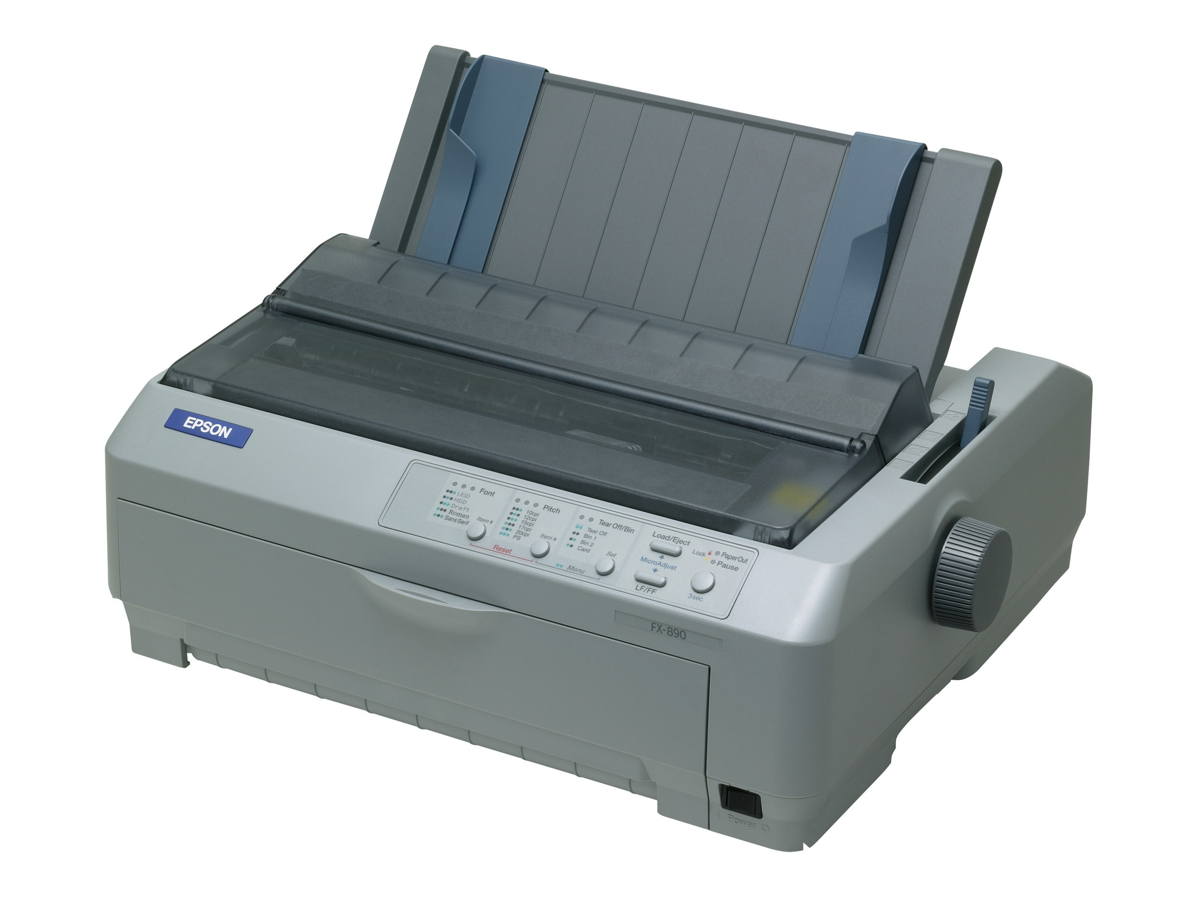 Epson FX-890 Impact Printer, C11C524001, 461929, Printers - Dot-matrix