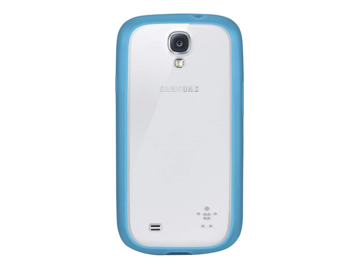 Belkin View Case for Samsung Galaxy S4, Clear Topaz, F8M565BTC03, 15961120, Carrying Cases - Phones/PDAs