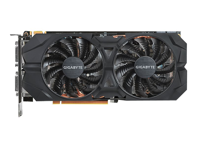 Gigabyte Tech GeForce GTX 960 PCIe 3.0 Overclocked Graphics Card, 4GB GDDR5, GV-N960WF2OC-4GD