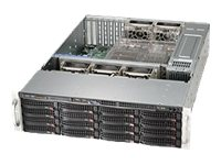 Supermicro SuperChassis 836BE16 3U RM (2x)Intel AMD 16x3.5 HS Bays 7xExpansion Slots 5xFans 2x1280W RPS