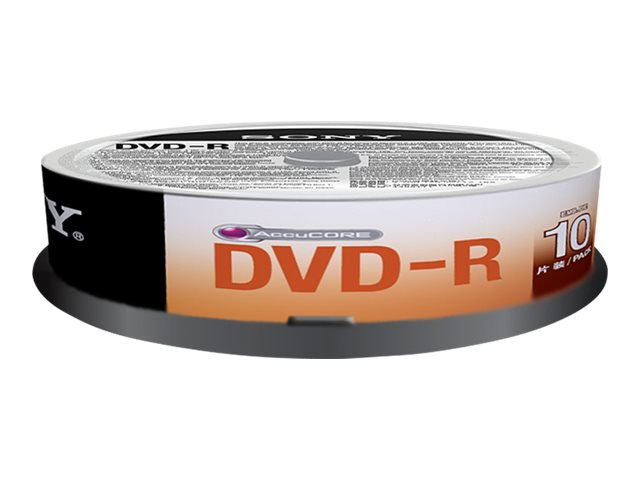 Sony DVD-R Media (100-pack Spindle)