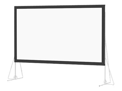 Da-Lite Heavy Duty Fast-Fold Deluxe Projection Screen, Dual Vision, 16:9, 11' x 19', 92150, 17543141, Projector Screens