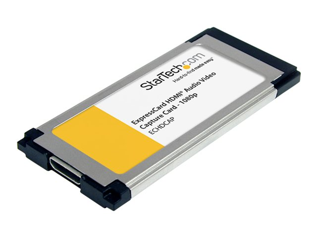 StarTech.com HDMI to ExpressCard HD Video Capture Card Adapter 1080p