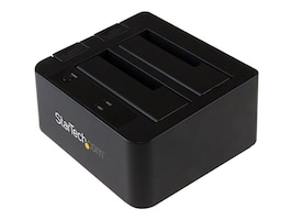StarTech.com USB 3.1 Gen 2 10Gb s Dual-Bay Dock for 2.5 3.5 SATA Solid State Drives, SDOCK2U313, 25360344, Hard Drive Enclosures - Multiple