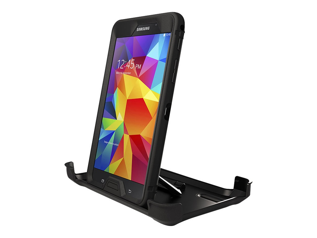 OtterBox Defender Case for Galaxy Tab 4 7.0, Black, 77-43076, 17652321, Carrying Cases - Tablets & eReaders