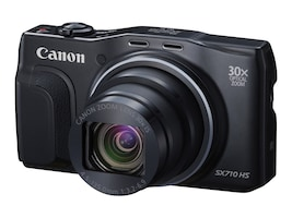 Canon PowerShot SX710 HS Camera, 20.3MP, 30x Zoom, Black, 0109C001, 18524216, Cameras - Digital - Point & Shoot
