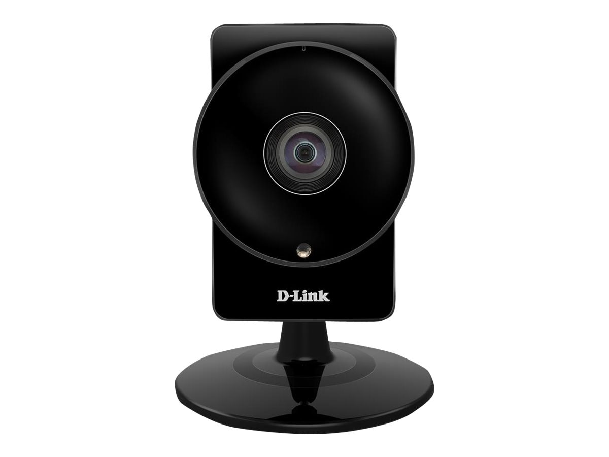 D-Link HD Ultra-Wide View Wi-Fi Camera, Black, DCS-960L