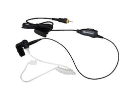 Motorola CLP 1-Wire Surveillance Earpiece with In-line Clip PTT Mic, HKLN4487A, 14002904, Headsets (w/ microphone)