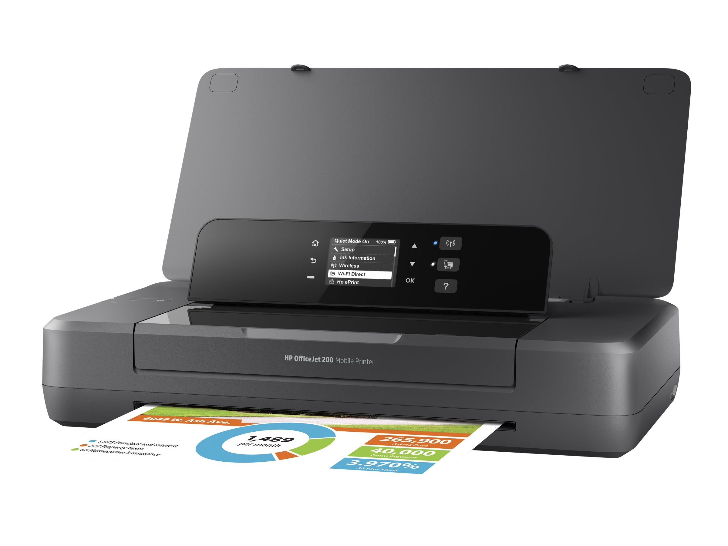 HP Officejet 200 Mobile Printer ($279 - $50 Instant Rebate = $229 Expires 11 30)