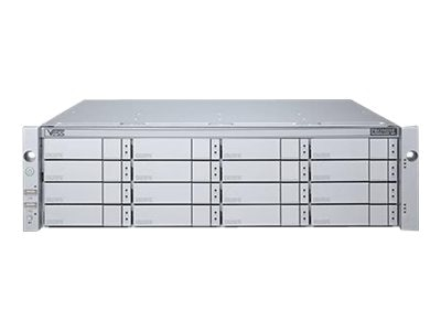 Promise 3U 16-Bay iSCSI1GX4 to SAS SATA 6Gb s Enclosure, VR2610I2GUS