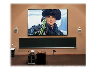 Draper ShadowBox Clarion Fixed Projection Screen, M2500, 16:10, 109, 253129, 13177315, Projector Screens