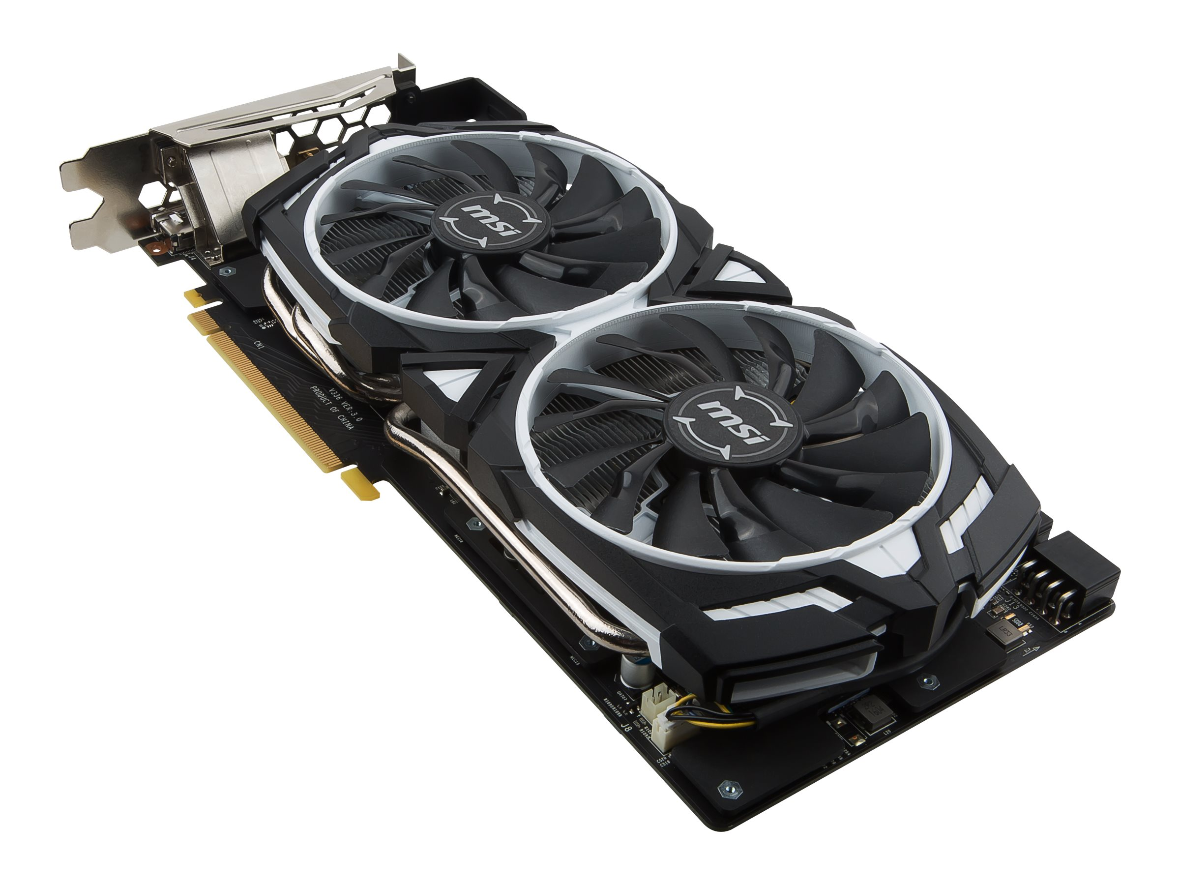 Microstar GeForce GTX1080 Armor Overclocked Graphics Card, 8GB GDDR5X