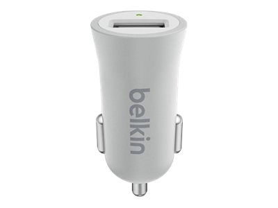 Belkin MIXIT Metallic Car Charger, Silver, F8M730BTSLV