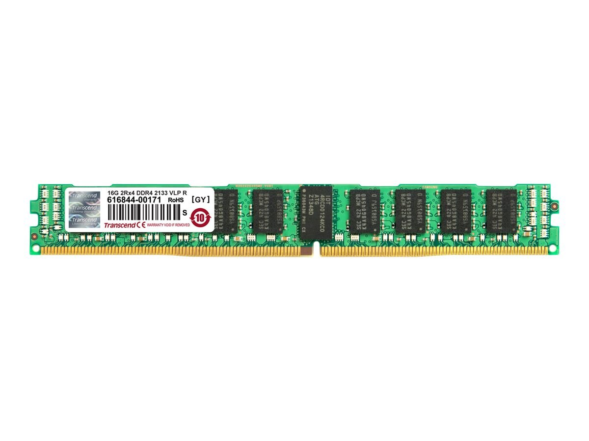 Transcend 8GB PC4-17000 288-pin DDR4 SDRAM RDIMM, TS1GHR72V1HL