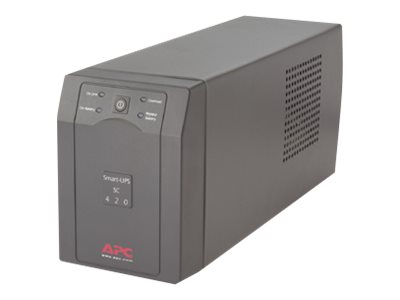 APC Smart-UPS SC 420VA 120V, SC420, 5486687, Battery Backup/UPS