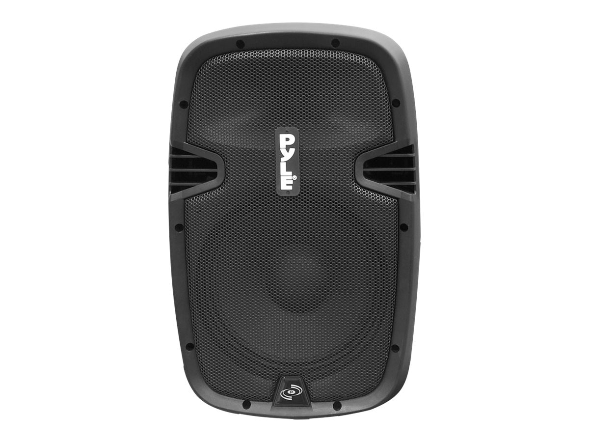 Pyle 15 1200 Watt Powered Two-Way Speaker with MP3 USB SD Bluetooth Music Streaming & Music Recording, PPHP1537UB