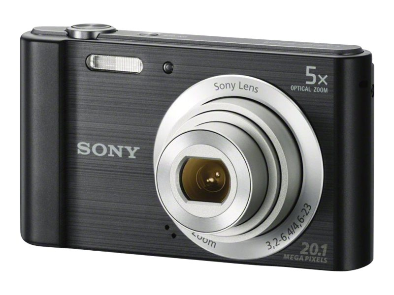 Sony Cyber-shot DSC-W800 Digital Camera, 20.1MP, 5x Zoom, Black, DSCW800/B, 17397745, Cameras - Digital - Point & Shoot
