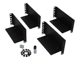 Tripp Lite 2-Post Rackmount Kit for 3U and Larger Components, 2POSTRMKITHD, 11651749, Rack Mount Accessories